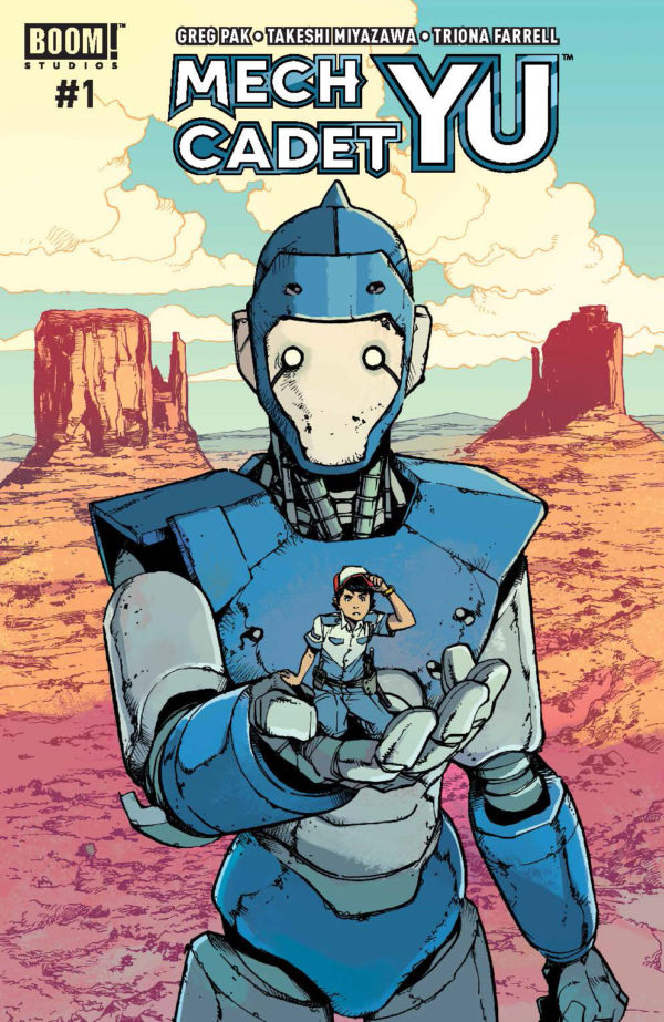 'Mech Cadet Yu' By Greg Pak And Takeshi Miyazawa Will Be An Ongoing Series
