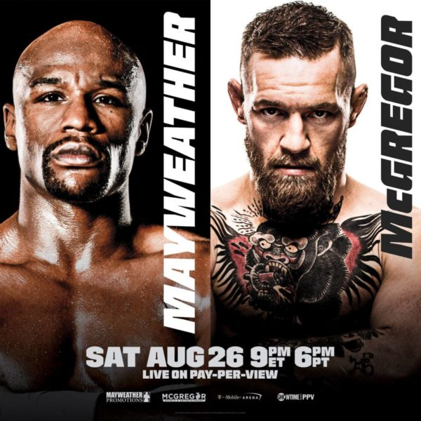 mayweather mcgregor poster