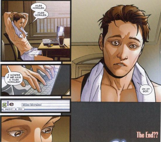 When Peter Parker Googled Miles Morales, What Did He Really Find? (Spider-Men II #2 Spoilers)