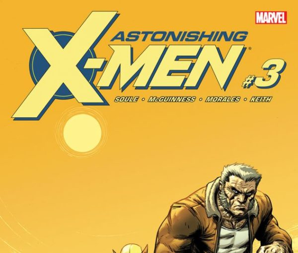 Cover to Astonishing X-Men #3 by Ed McGuinness