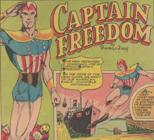 Taylor And Coffman Team To Revive Captain Freedom To Combat Hate