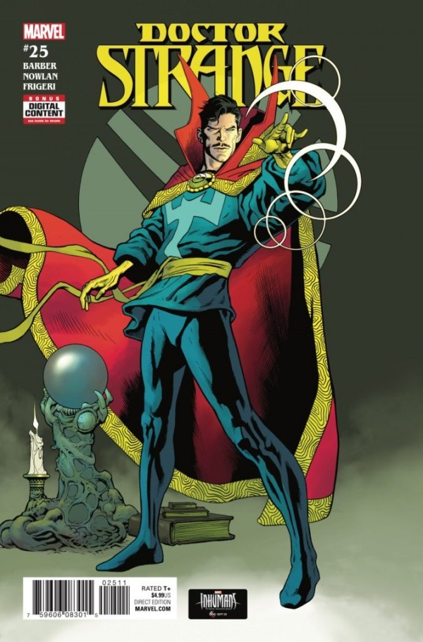 Cover to Doctor Strange #25 by Kevin Nowlan