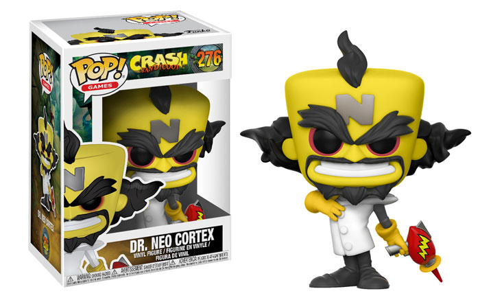 Funko Crash bandicoot Pop Neo Cortex