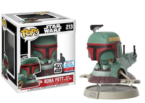 Funko NYCC Exclusive Star Wars Boba Fett with Slave One