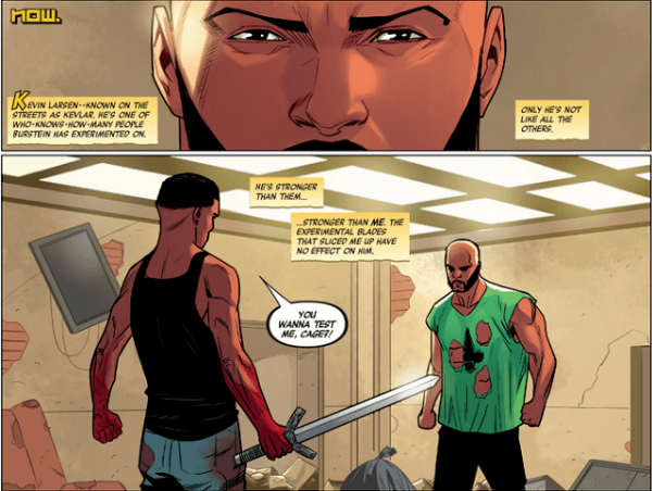 Art from Luke Cage #5 by Nelson Blake II