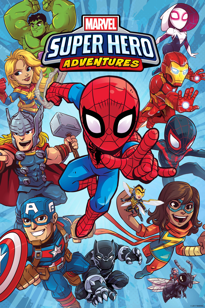 Biff! Bam! Pow! Comics Are For Kids Again With Marvel Super Hero Adventures Pre-School Program