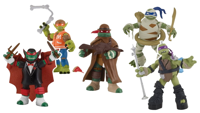 TMNT Monsters and Mutants Figures 1?x70969 tmnt gets new monster mash up figures in time for halloween