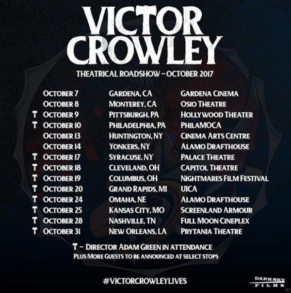 Victor Crowley Roadhouse Tour Dates