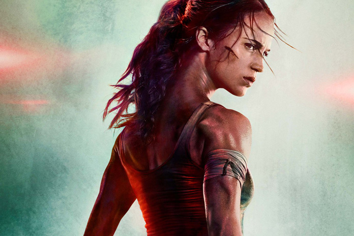 New Tomb Raider Movie Poster Now With A Real Neck