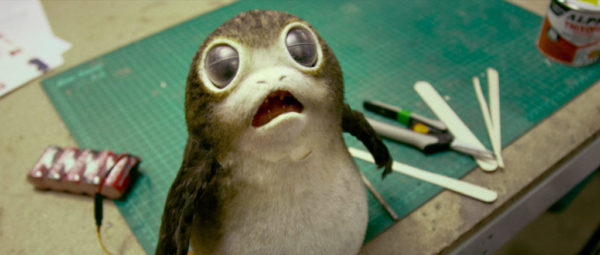 last jedi rian johnson porg facts