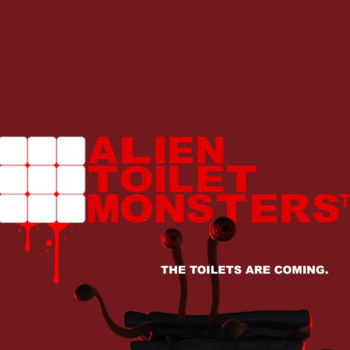 Alein Toilet Monsters