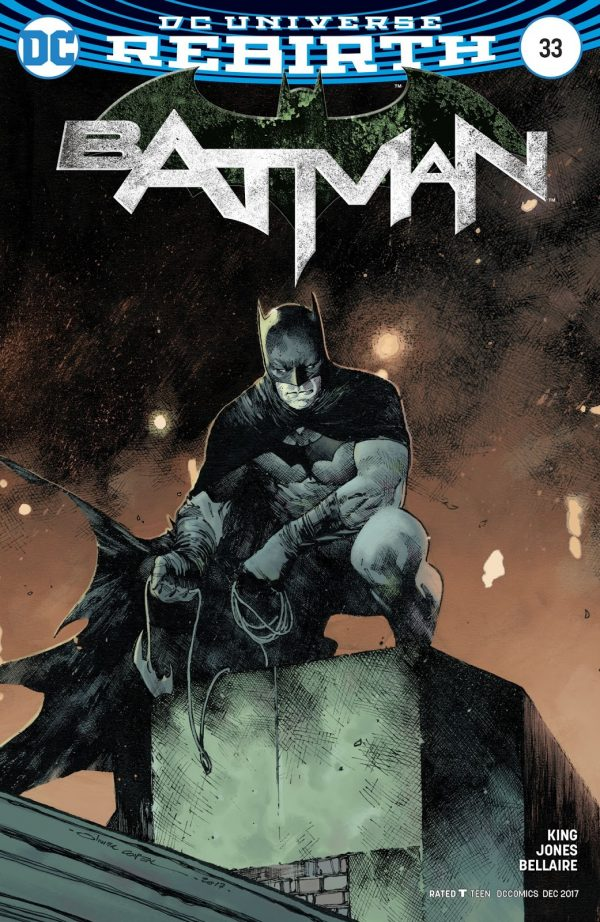 Batman #33 variant cover by Olivier Coipel and Dave Stewart