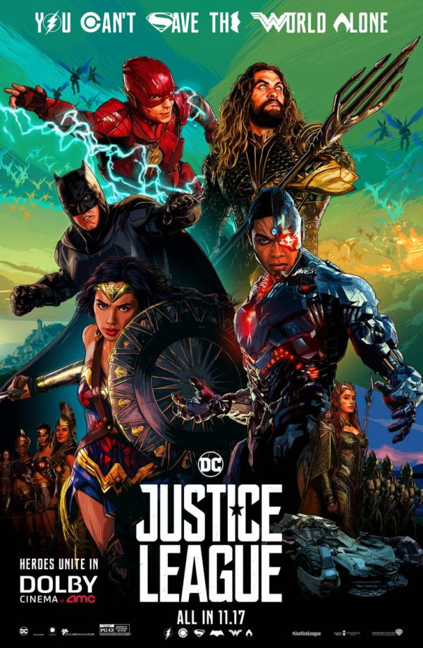 First We Have Yet Another New Poster This One Comes From Dolby Cinemas And If Nothing Else Justice League Movie Then Got A Bunch Of