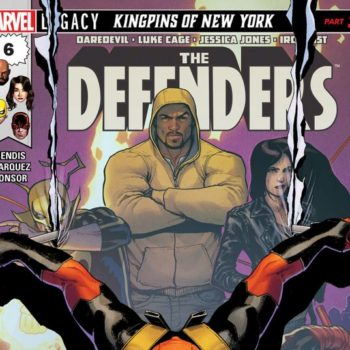 Defenders #6 cover by David Marquez and Justin Ponsor