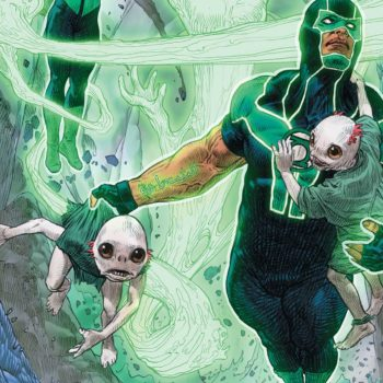 Green Lanterns #32 variant cover by Brandon Peterson