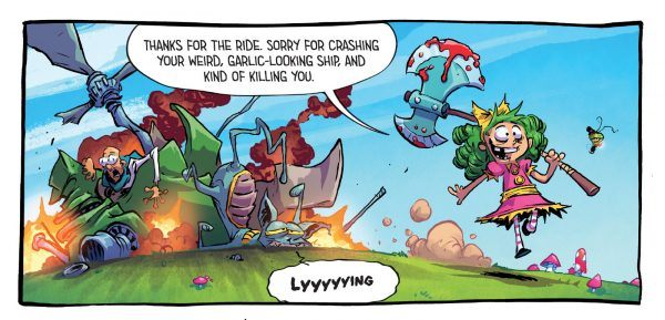 I Hate Fairyland Special Edition Art by Skottie Young and Jean-Francois Beaulieu