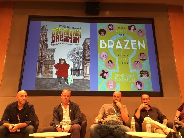 French Comics California Dreamin and Brazen are introduced at NYCC