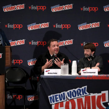 Cast of Reverie NBC at New York Comic Con 2017