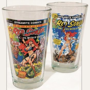 Red Sonja Pint Glasses