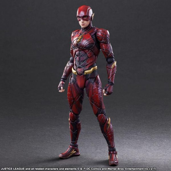 This figure sells the costume for me! Granted their figures always have a more armored look to them but their version of Barry looks great! & Flash Gets A Cool Play Art Figure That Makes His Movie Suit Awesome ...