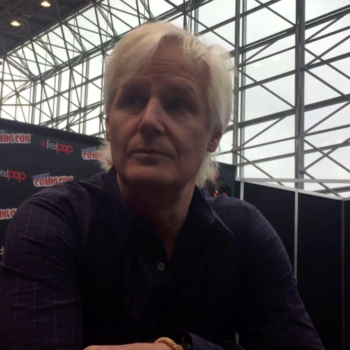 Chris Carter At New York Comic Con