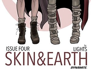 Skin and Earth #4 cover by Lights