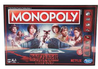 Stranger Things Monopoly Boxed