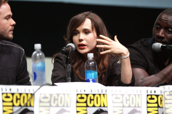 Ellen Page at Comic-Con International