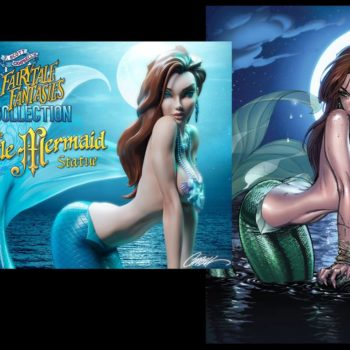 J. Scott Campbell Little Mermaid Statue