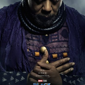Zuri, elder of Wakanda, who is a religious and spiritual leader, as well as a statesman. Zuri is the keeper of the special herb that gives Black Panther his power, and helped T'Challa's father T'Chaka on his own rite of passage.
