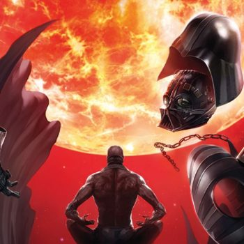 Darth Vader #8 cover by Giuseppe Camuncoli and Francesco Mattina