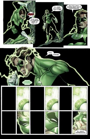 Hal Jordan and the Green Lantern Corps #32 art by Ethan van Sciver, Liam Sharp, and Jason Wright