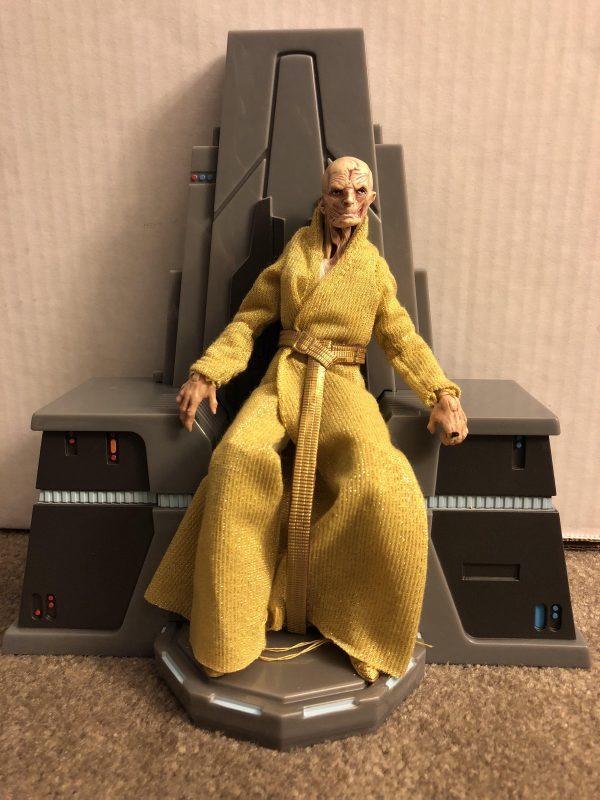 Star Wars Black Series Snoke 6