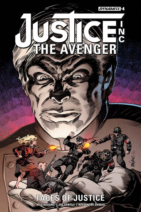 Justice Inc.: The Avenger #4