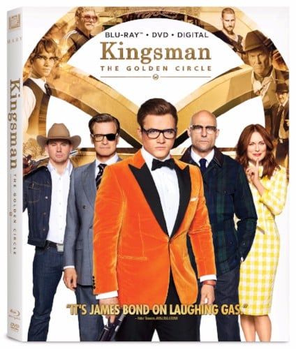 rejoin the worlds most elite secret service when twentieth century fox home entertainment releases kingsman the golden circle on 4k ultra hd