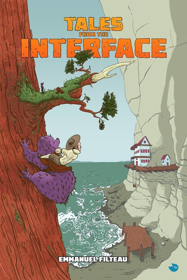 Tales from the Interface #1 cover by Emmanuel Filteau