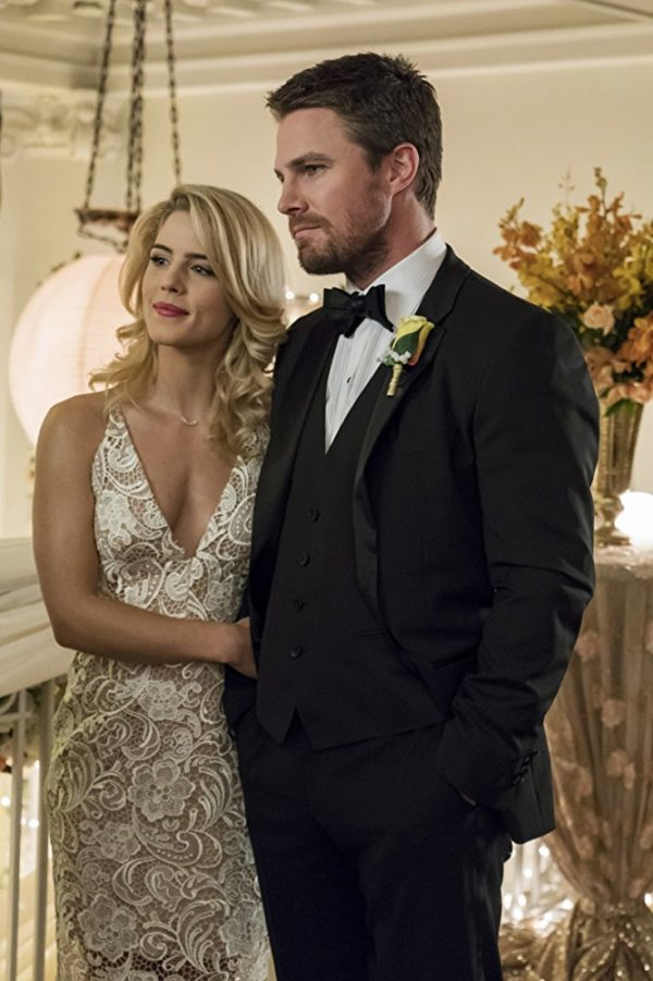 Felicity Smoak and Oliver Queen