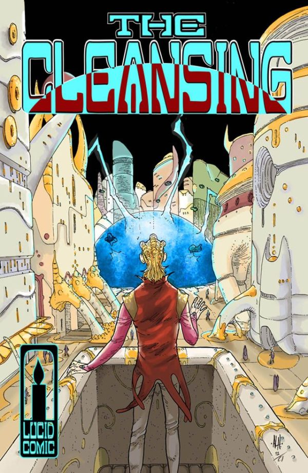 The Cleansing cover by Andre Araujo and Catherine Toennisson
