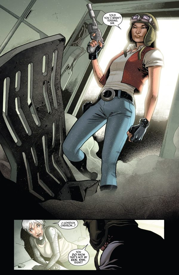 Doctor Aphra #15 art by Emilio Laiso and Rachelle Rosenberg
