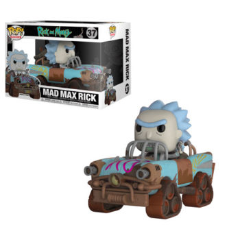 Funko Rick and Morty Mad max Rick Pop Ride