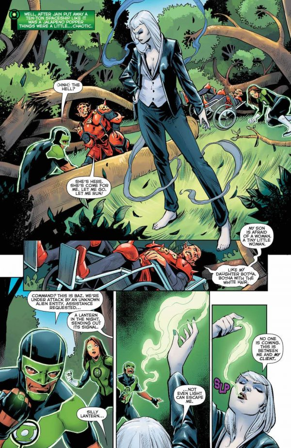 Green Lanterns #36 art by Ronan Cliquet and Hi-Fi