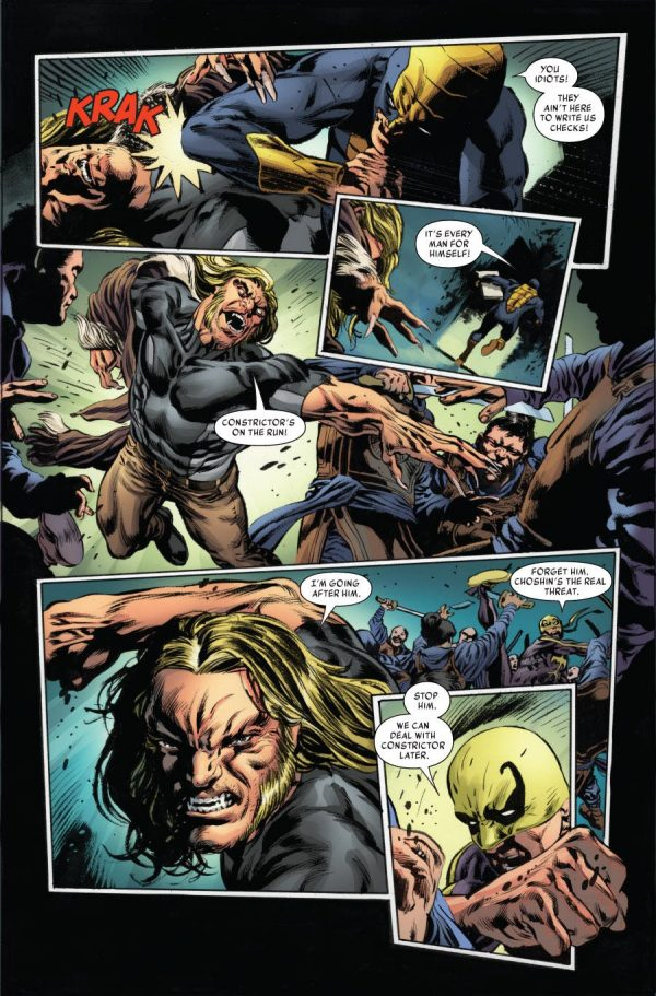 Iron Fist #75 art by Mike Perkins and Andy Troy