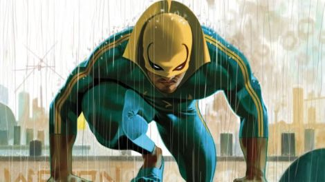 Iron Fist #75 cover by Jeff Dekal