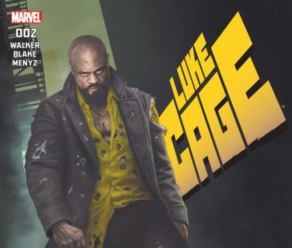 Luke Cage cover art by Rahzzah