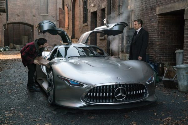 Bruce Wayne S Justice League Car Was A One Of A Kind Mercedes Benz