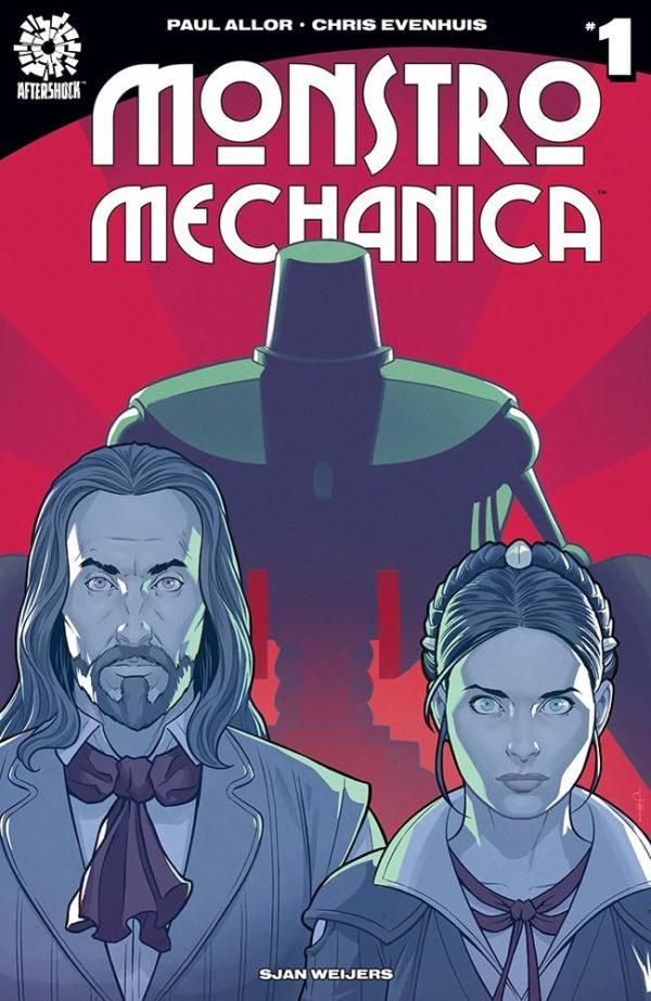 Monstro Mechanica #1 cover by Chris Evenhuis