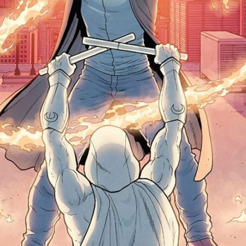 Moon Knight #190 cover by Jacen Burrows and Mat Lopes