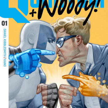 Quantum and Woody #1 cover by Julian Totino Tedesco