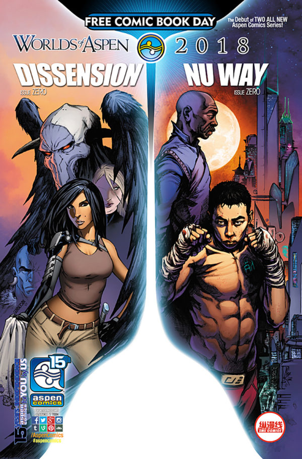 World Of Aspen Comes Out For Free Comic Book Day 2018 Psycho Bonkers And Mindfield Each Get Volume 1 Releases More Details Are Available Below