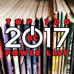 comics industry: Bleeding Cool 2017 Top 100 Power List (Background Image by Studio Matitanera / Shutterstock.com)